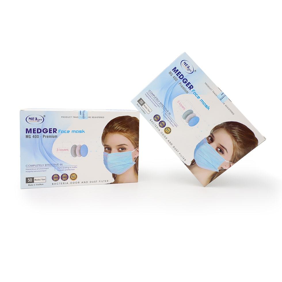Khẩu trang kháng khuẩn cao cấp Medger