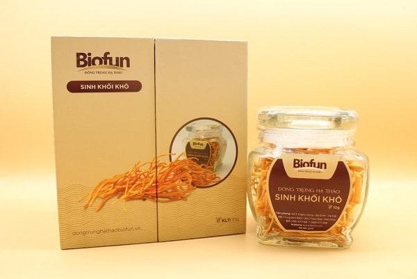 Đông trùng hạ thảo sinh khối khô BioFun