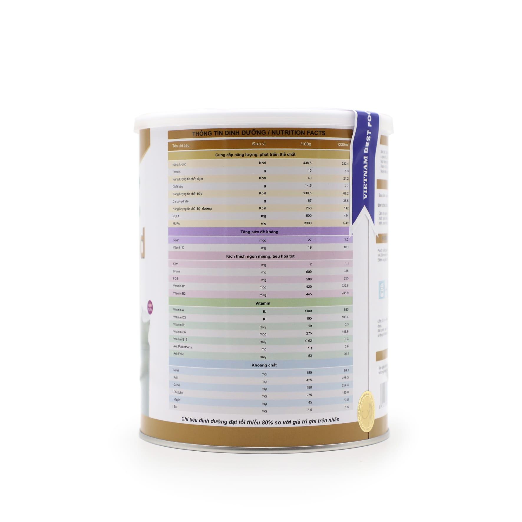Sữa Biolac Gold 900g