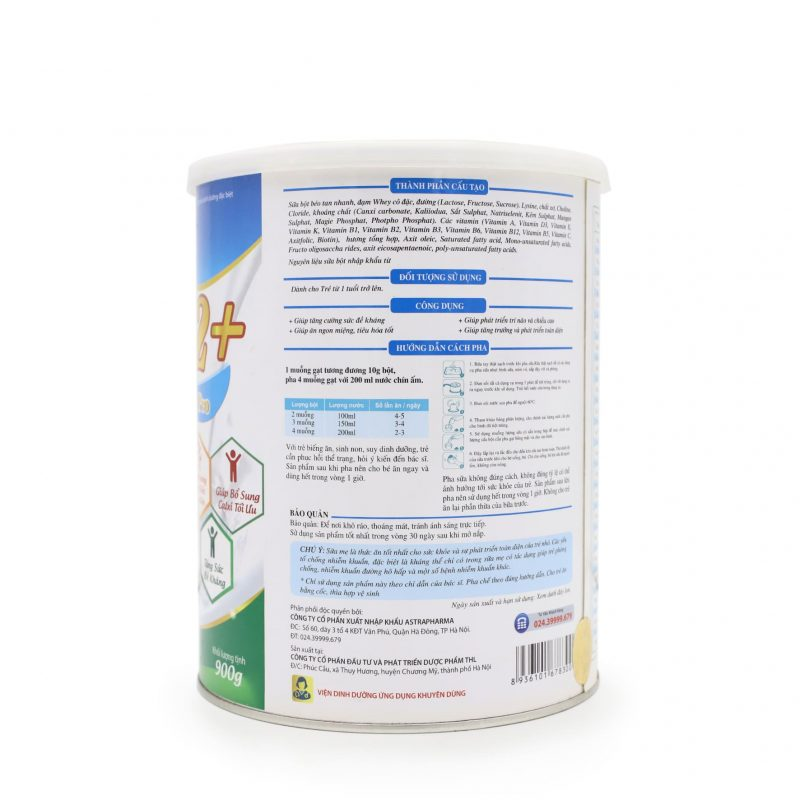 Sữa Miomil Canxium Pro 900g