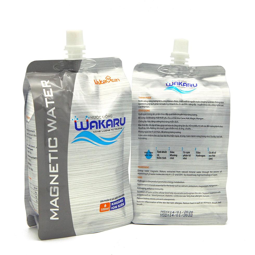 Nước uống từ trường Wakaru túi 500ml