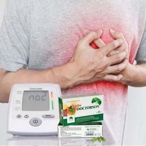 Hỗ trợ tim mạch - Huyết áp